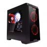 Computer Case <font color=red> Gaming </font>RAPTOR BLACK STRIKE 1501 <font color=red>Non PSU & Fan </font>